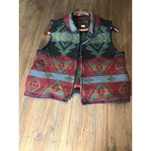 Vintage Rough Rider Vest. Made in the USA.